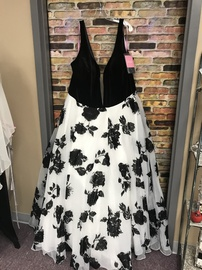 Queenly size 32  Multicolor Ball gown evening gown/formal dress