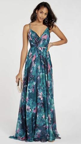 Alyce Paris Multicolor Size 20 Alyce Plus Size A-line Dress on Queenly