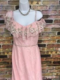 Rachel Allan Pink Size 8 Rachel Allen Floral Mermaid Dress on Queenly