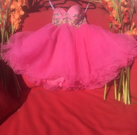 Sherri Hill Pink Size 0 Silk Homecoming Jewelled Sequin Cocktail Dress on Queenly