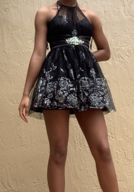 Black Size 2 A-line Dress on Queenly