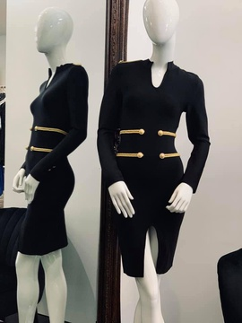 Black Size 6 Cocktail Dress on Queenly