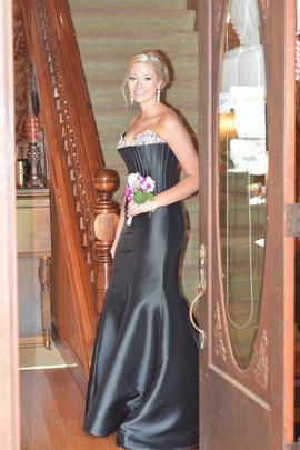 Sherri Hill Black Size 6 Prom Mermaid Dress on Queenly