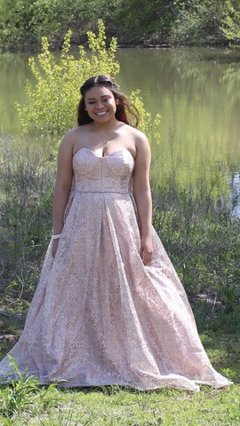 Multicolor Size 10 Ball gown on Queenly
