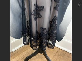 BCBG Black Size 0 Floral Strapless Cocktail Dress on Queenly