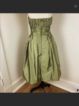Mori Lee Green Size 18 Plus Size Homecoming Cocktail Dress on Queenly