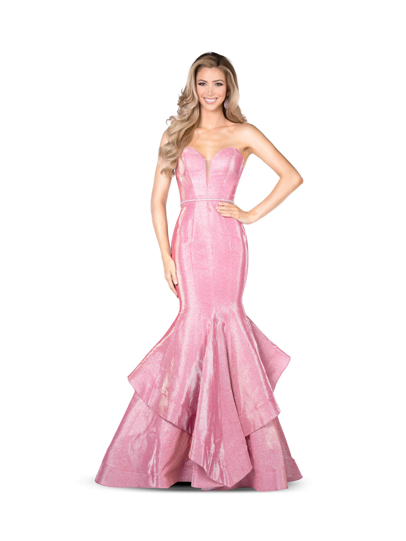 Vienna Pink Size 12 Tall Height Mermaid Dress on Queenly