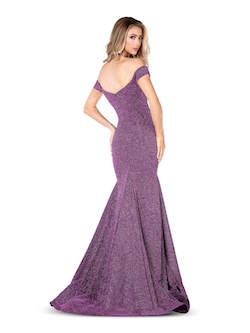 Vienna Blue Size 8 Mermaid Dress on Queenly