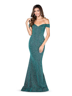 Vienna Green Size 8 Tall Height Mermaid Dress on Queenly