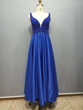 Blue Size 2 Straight Dress on Queenly