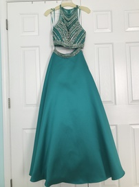 Green Size 4 A-line Dress on Queenly
