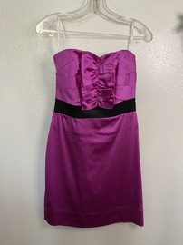 Queenly size 4 Phoebe Couture Purple Cocktail evening gown/formal dress