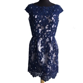 Blue Size 10 Cocktail Dress on Queenly
