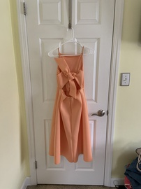 Asos Orange Size 4 Mini Ball gown on Queenly