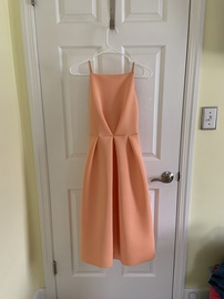 Queenly size 4 Asos Orange Ball gown evening gown/formal dress