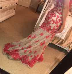 Sherri Hill Red Size 0 Sweetheart Train Strapless Mermaid Dress on Queenly