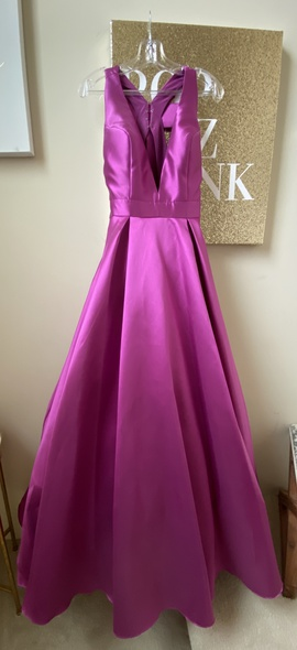 Queenly size 8 Jovani Purple Ball gown evening gown/formal dress