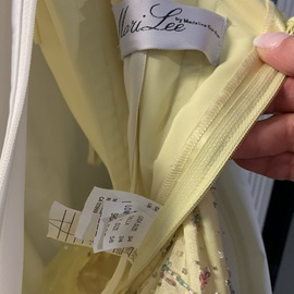 Mori Lee Yellow Size 4 Multicolor Quinceanera Ball gown on Queenly