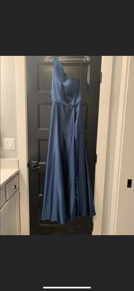 Blue Size 12 Ball gown on Queenly
