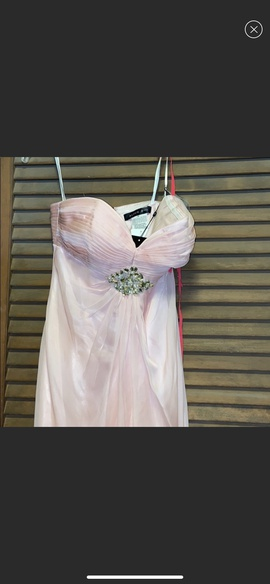 Alyce Paris Pink Size 4 Straight Dress on Queenly