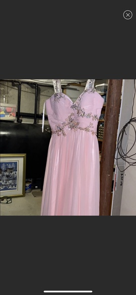 Dave & Johnny Pink Size 10 Dave And Johnny Straight Dress on Queenly