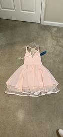 Queenly size 2 maniju Pink Cocktail evening gown/formal dress