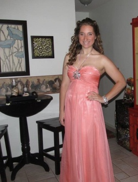Mac Duggal Pink Size 12 Tulle Medium Height Straight Dress on Queenly