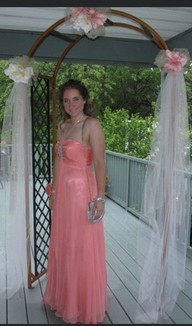 Mac Duggal Pink Size 12 Medium Height Straight Dress on Queenly