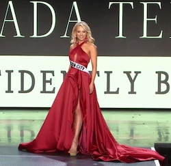 Jovani Red Size 2 Side slit Dress on Queenly