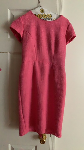 Custom made Pink Size 2 Interview Straight Dress on Queenly