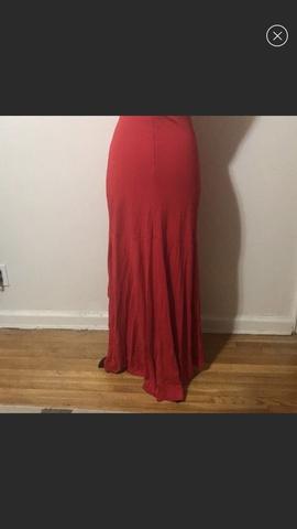 Jovani Red Size 6 Side slit Dress on Queenly