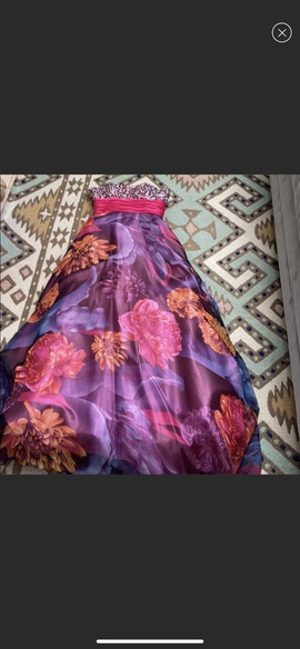 Panoply Purple Size 2 Pink Ball gown on Queenly