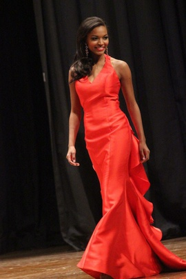 Sherri Hill Red Size 2 Prom Backless Ruffles Mermaid Dress on Queenly