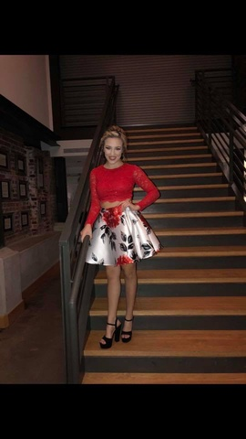 Red Size 0 Cocktail Dress on Queenly