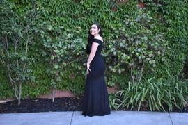Sherri Hill Black Size 4 Prom Mermaid Dress on Queenly