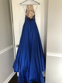 Sherri Hill Blue Size 00 Prom Ball gown on Queenly