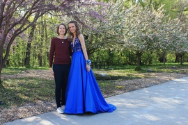 Sherri Hill Blue Size 00 Prom Train Dress on Queenly
