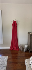 Sherri Hill Red Size 0 Medium Height Side slit Dress on Queenly