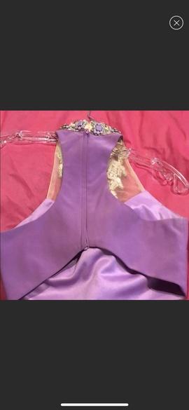 Rachel Allan Purple Size 2 Two Piece Straight Dress on Queenly