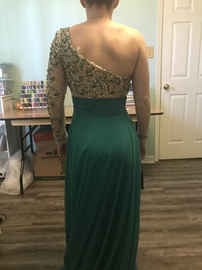 Panoply Green Size 0 Side slit Dress on Queenly