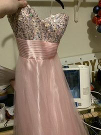Queenly size 00  Pink Ball gown evening gown/formal dress