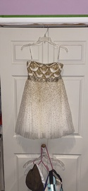 Sherri Hill White Size 8 Homecoming Cocktail Dress on Queenly