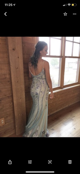 Multicolor Size 6 Mermaid Dress on Queenly