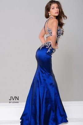 Jovani Blue Size 2 Mermaid Dress on Queenly