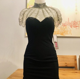Jovani Black Size 0 Jersey Cocktail Dress on Queenly