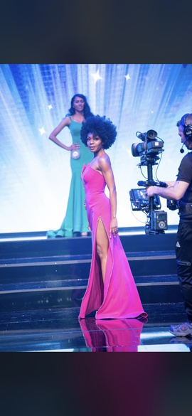 Jovani Pink Size 2 Strapless Side slit Dress on Queenly