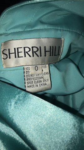Sherri Hill Blue Size 0 Pageant Short Height Ball gown on Queenly