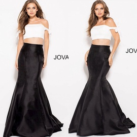 Jovani Black Size 0 Mermaid Dress on Queenly