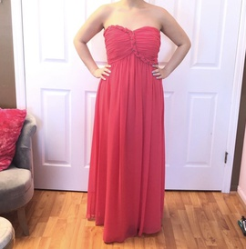 Queenly size 8 Calvin Klein Pink Straight evening gown/formal dress