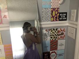 Vienna Purple Size 0 Side Slit Train Dress on Queenly